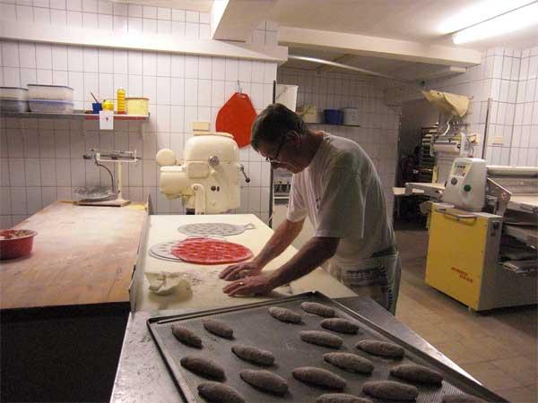Bäckerei Grimmeisen - Herr Grimmeisen Senior